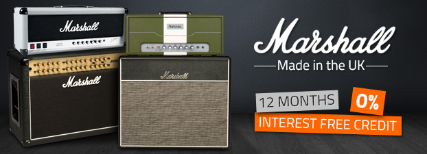 Marshall Made In The UK Amps now with 0% Finance