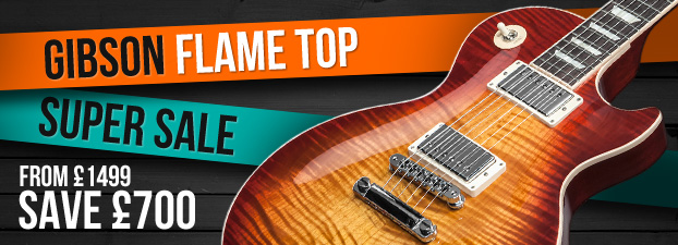 Gibson Flame Top Sale