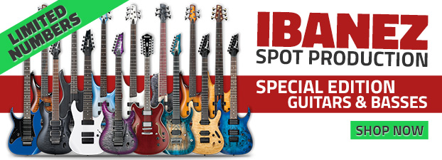 Ibanez Spot Production Guitars
