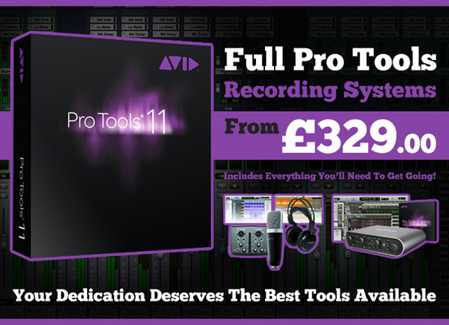 Pro Tools - Full Systems From £329!