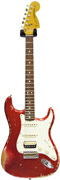 Fender Custom Shop Stratocaster 68 HSS Relic Candy Apple Red (Pre-Owned)