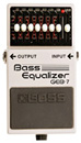 Boss GEB-7 Bass Equalizer (Pre-Owned)