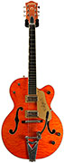 Gretsch 6120 1959LTV Quilted Maple Orange Chet Atkins (Pre-Owned)