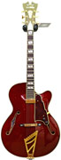 D'Angelico EXS-1 Wine Red inc Case (Pre-owned)