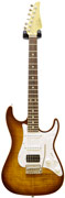 Suhr Limited Edition Korina Flame Bengal Burst (Pre-Owned)