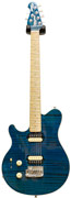 Musicman Axis Supersport Teal Matching Headstock LH (Pre-Owned)