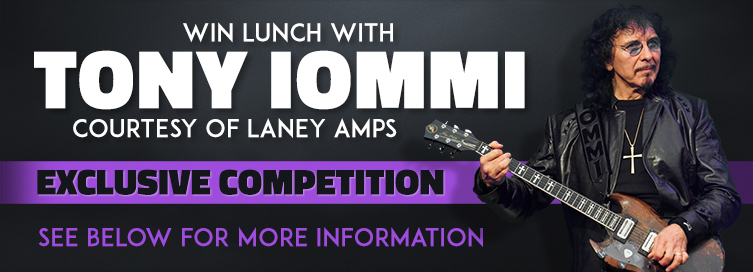 Competition: Win Lunch with Tony Iommi