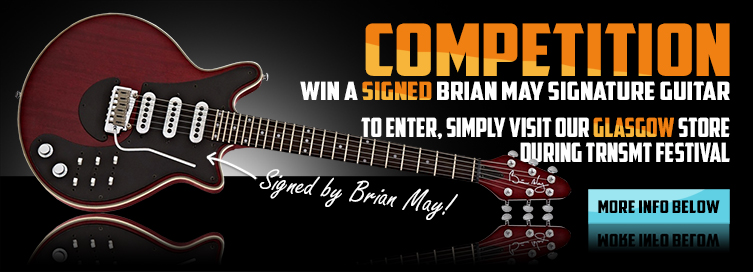 Win a Signed Brian May Guitar!