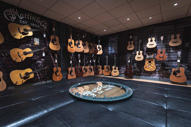 A Closer Look: guitarguitar Newcastle's New Acoustic Area!