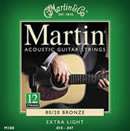 Martin M180 Extra Light 12 String 10-47