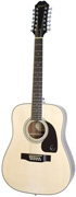 Epiphone DR212 Dreadnought 12 String Natural